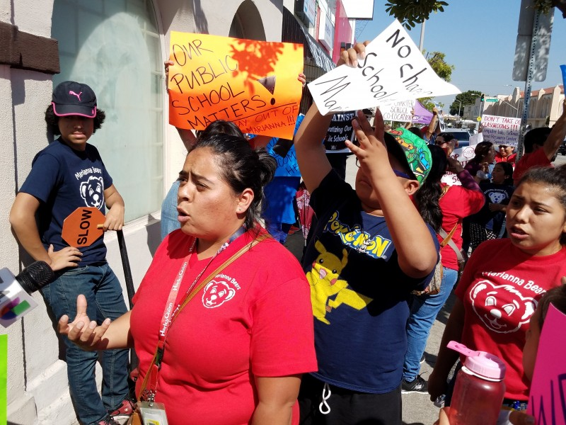 Angry Parents Protest Proposed Kipp Charter School In Ela Fight Back