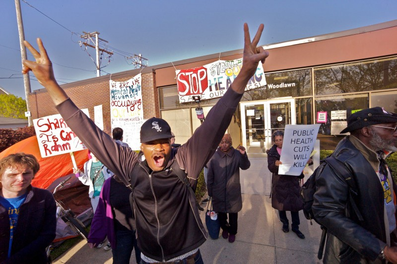 Patients Advocates Occupy Woodlawn Mental Health Center In Chicago
