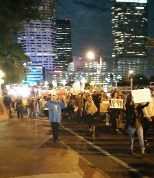 Protesters disrupt Tampa Christmas tree lighting, chanting, \'I can\'t ...