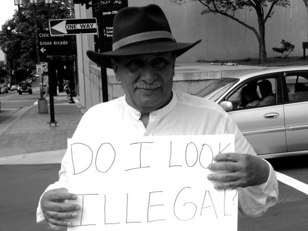 Do I Look Illegal? - T-post