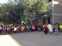 Protest en Tucson AZ