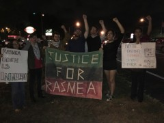 Tampa rally in support of Rasmea Odeh.