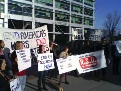 Utah April 11 anti-war rally.
