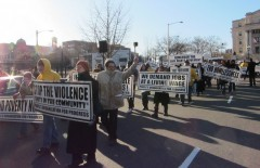 Newark march on MLK Day