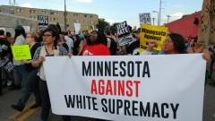 Minneapolis march against white supremacy