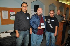 SK Strikers with Armando Robles of the Republic Windows and Doors workers