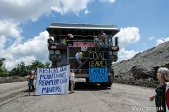 West Virginia shuts down mountain top removal coal operation.