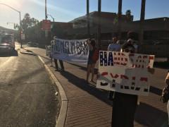 Tucson protest Muslim Ban.
