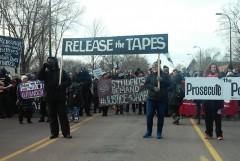 Dec. 19 march demanding justice for Jamar Clark.