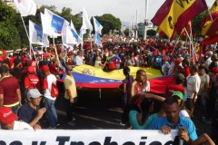 Massive May Day march in Venezuela.