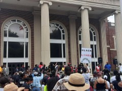 1000 rally in Brunswick, Georgia demanding justice for Ahmaud Arbery
