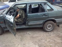 Car carrying humanitarian aid shot up by Ukrainian Army