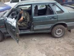 Car carrying humanitarian aid shot up by Ukrainian Army