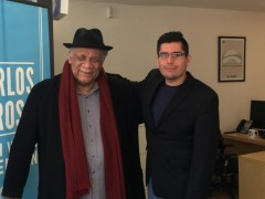 Chicago Alderman Carlos Ramirez Rosa (right) with Frank Chapman of NAARPR