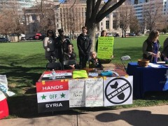 The Denver Peace Council at the Science March