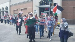 Dallas Nakba protest.