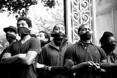 UC Berkeley Black Student Union protestors