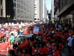 Chicago teachers rally