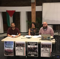 Members of the U.S Palestinian Community Network from Chicago (USPCN)