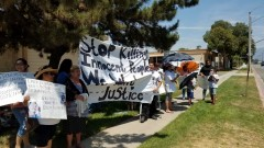 Protest demands justice for Isaiah Tucker who was killed by Oshkosh cops.