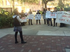 FSU students demand justice for Tamir Rice and Sandra Bland