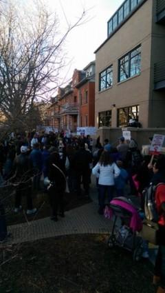 Denver protest in defense of Deferred Action for Childhood Arrivals