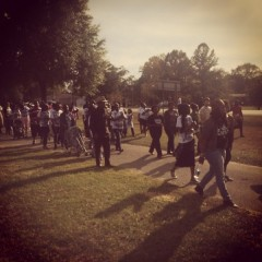 March against police killing in Gretna, FL