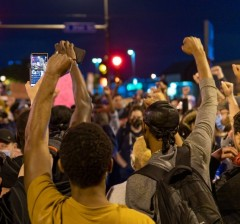Protests in Minneapolis.