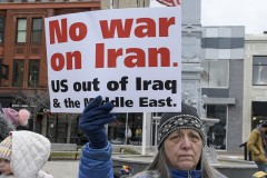 Grand Rapids, MI says no to war with Iran.