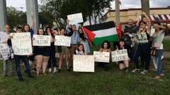 Tampa protest against Israeli attacks on Gaza