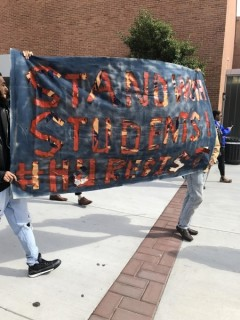 Howard University students protest