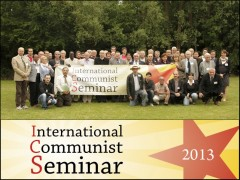 Participants in the International Communist Seminar