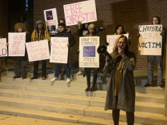 Kenosha, WI protest demands justice for Chrystul Kizer.
