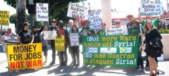 LA protest demands 'Hands off Syria!'