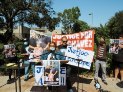 LA protest demands justice for Leo Chavez, Chicano man killed by California High