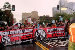LA marches against Trump on Jan.20.
