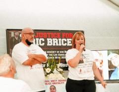 Juan Briceno Jr. and Blanca Briceno, brother and sister of Eric.
