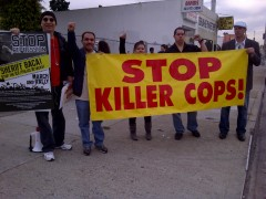 LA protest against Sheriff Baca
