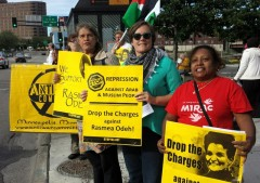 Minneapolis protest demands justice for Rasmea Odeh