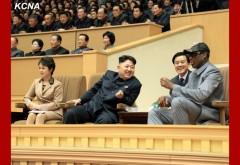 DPRK leader Kim Jong Un with Dennis Rodman