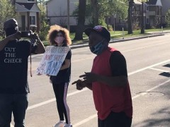 Minneapolis protest demands justice for Jamar and end to police crimes.