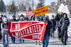 MIRAC protest demands end to war on immigrants