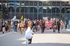 Minneapolis march against repression in Portland