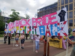 Take Back Pride march in Minneapolis.
