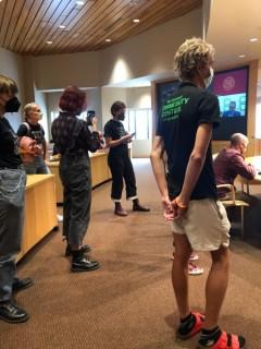 U of MN SDS disrupts Board of Regents meeting.