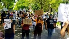 Sindicalistas en Minnesota exigen justicia para George Floyd