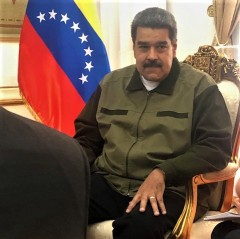 Delegation of U.S. Peace Council meets with President Maduro