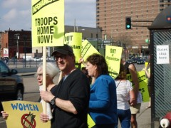 Minneapolis protest demands U.S. out of Afghanistan