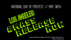 Chicanos in Boyle Heights to participate in the National Day of Action May 30