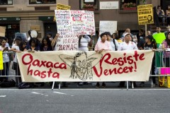 NYC rally against repression in Mexico